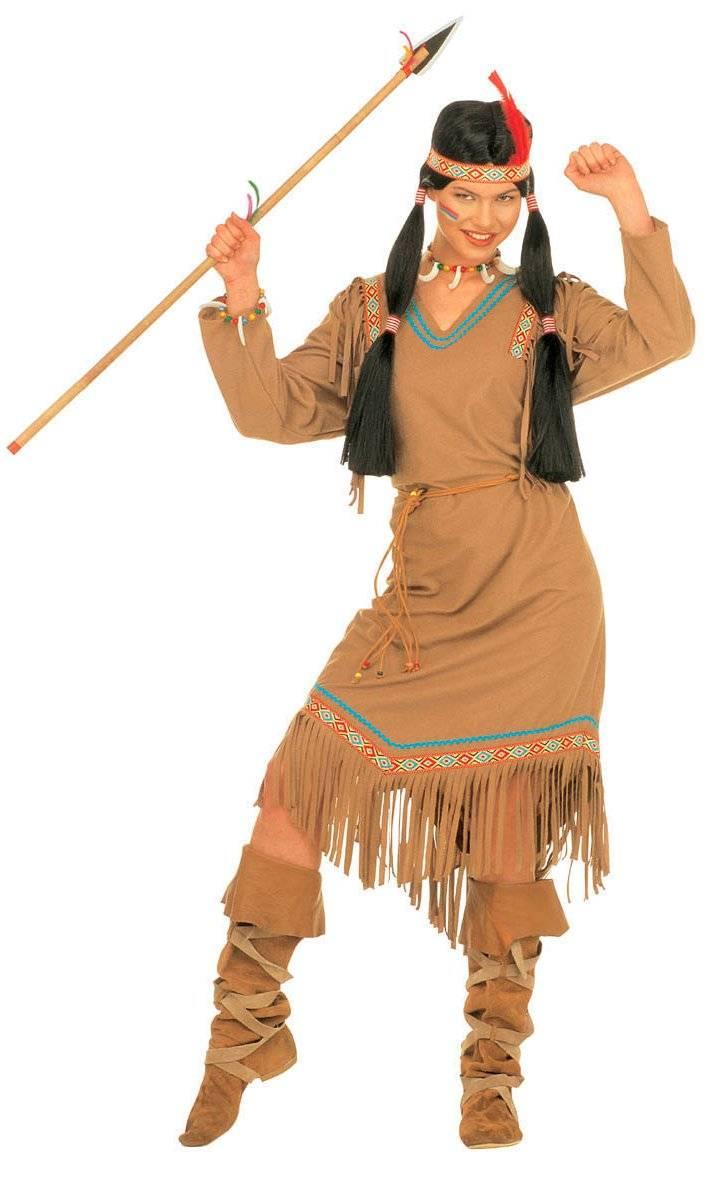 Robe-indienne-Femme