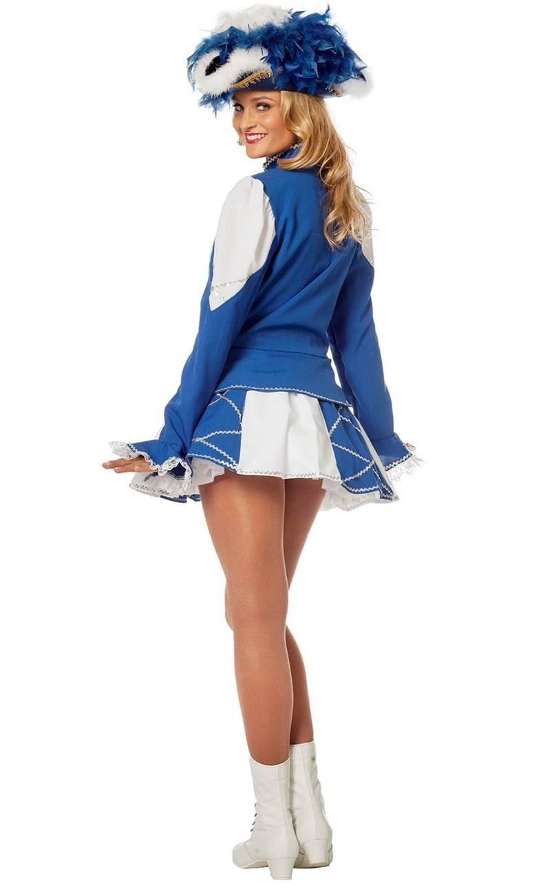 Costume-Majorette-Femme-bleue-2