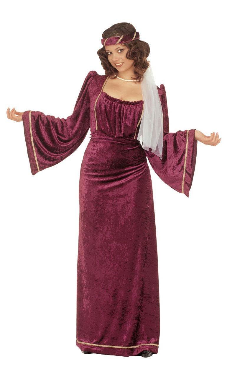 Robe-Médiévale-Femme