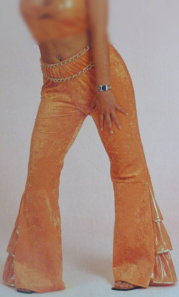 Costume-Pantalon-Disco-Orange