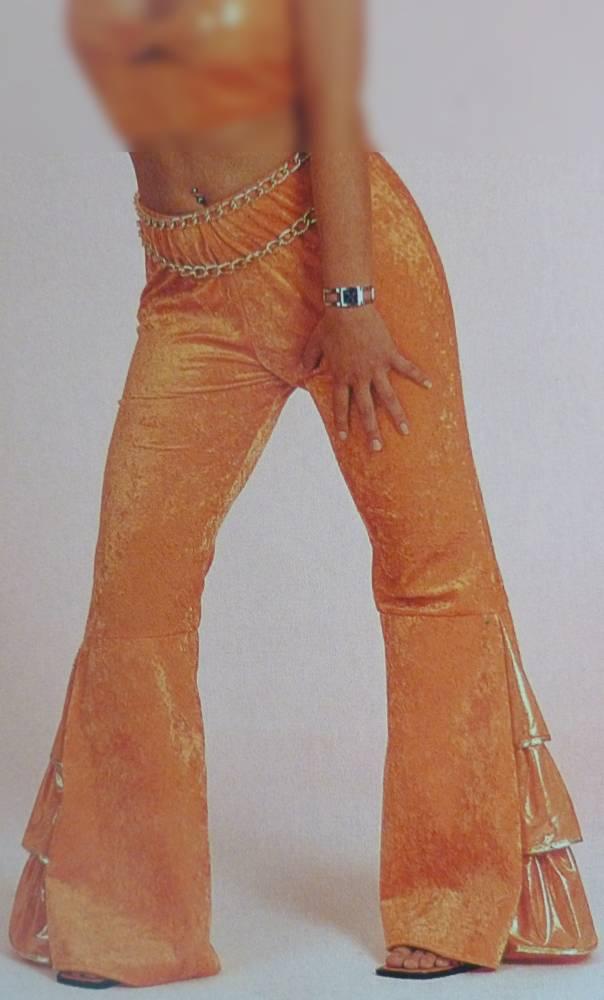 Costume-Pantalon-Disco-Orange