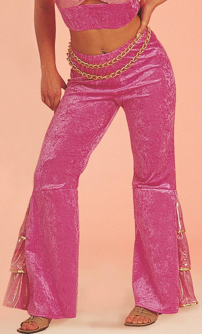 Costume-Pantalon-Disco-Rose