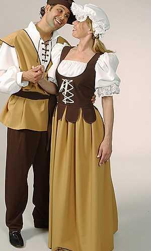 Costume-Paysanne-Méviévale