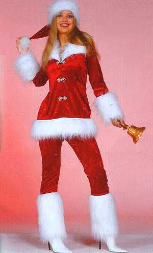 Costume-Mère-Noël-Hotesse-luxe