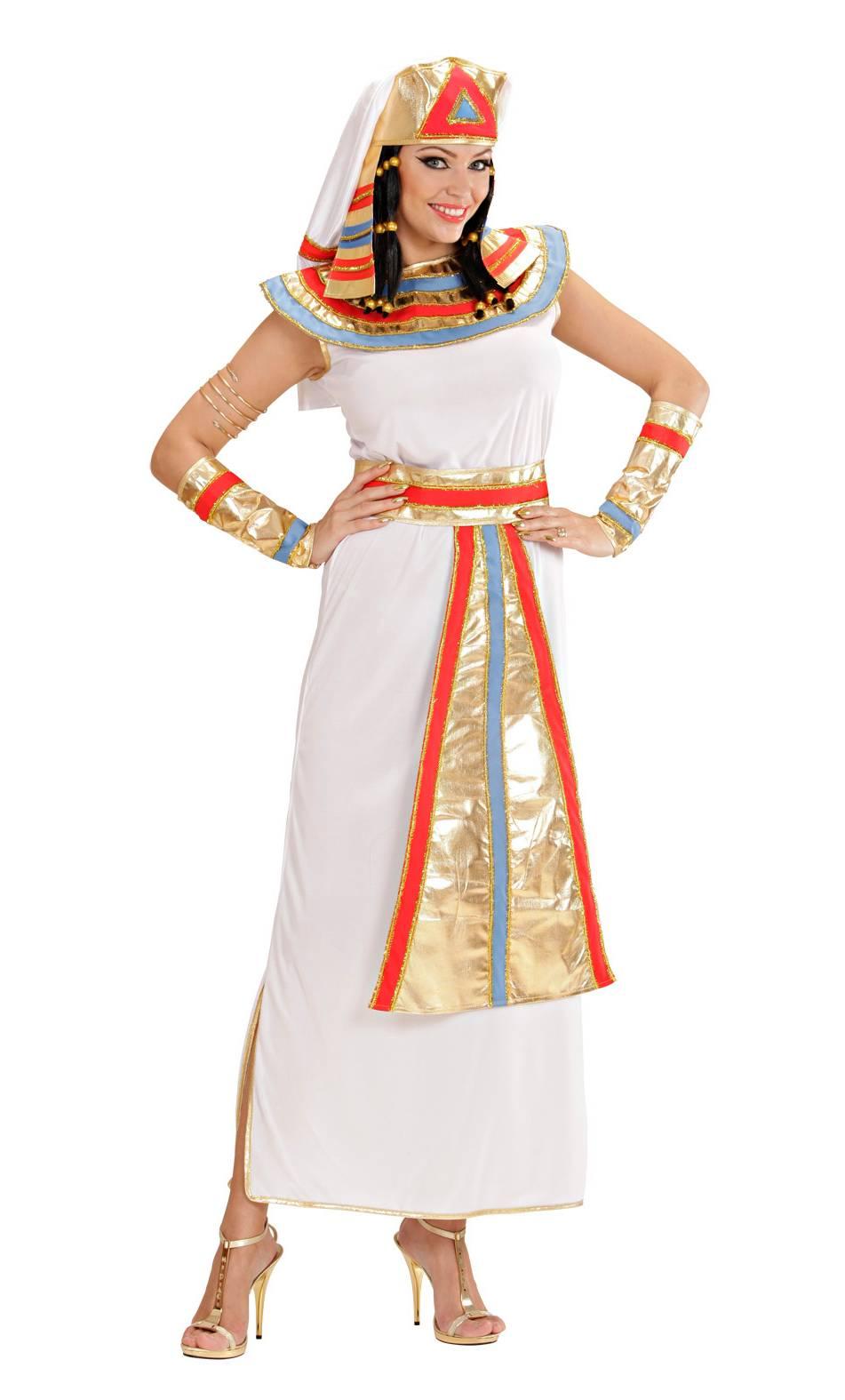 Costume d'égyptienne reine du nil