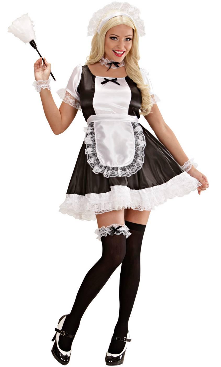 Costume soubrette femme