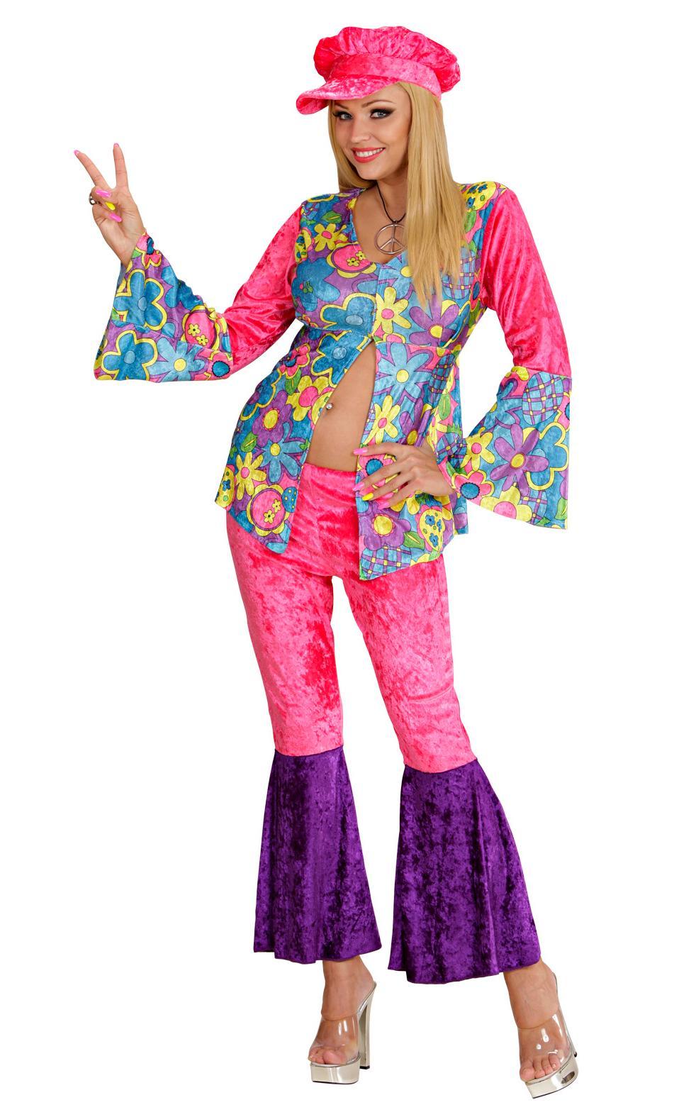 Costume hippy femme