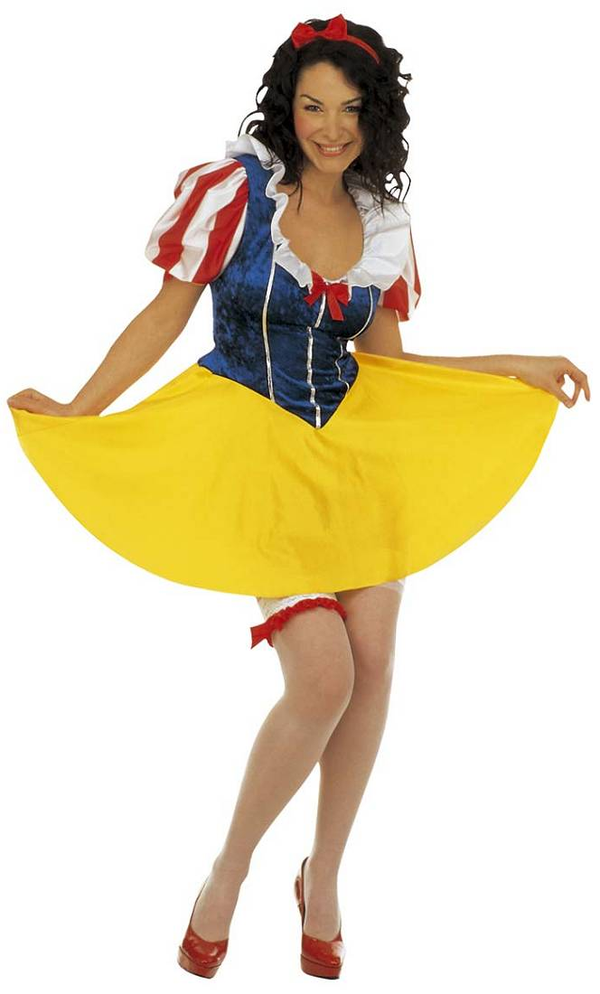 Costume blanche neige femme