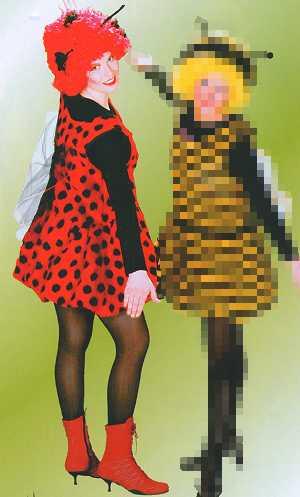Costume-Coccinelle-F1