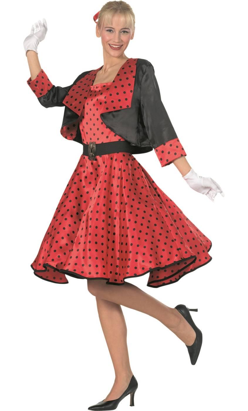 Costume-Sixties-Rouge