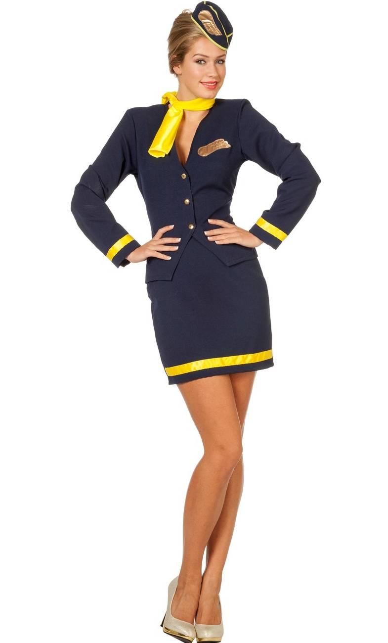 Costume-Hotesse-de-Air