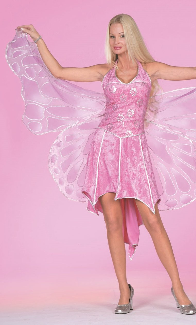 Costume-Papillon-rose