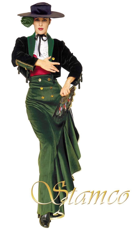 Costume-Espagnole-Andalouse