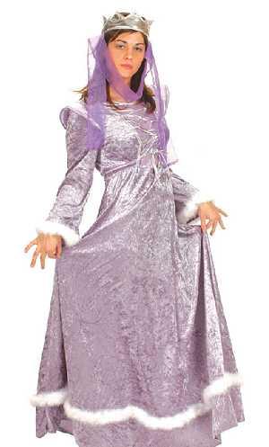 Costume-Médiévale-violette