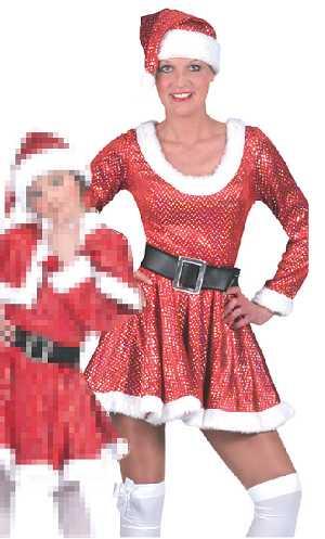 Costume-Mère-Noël-paillettes