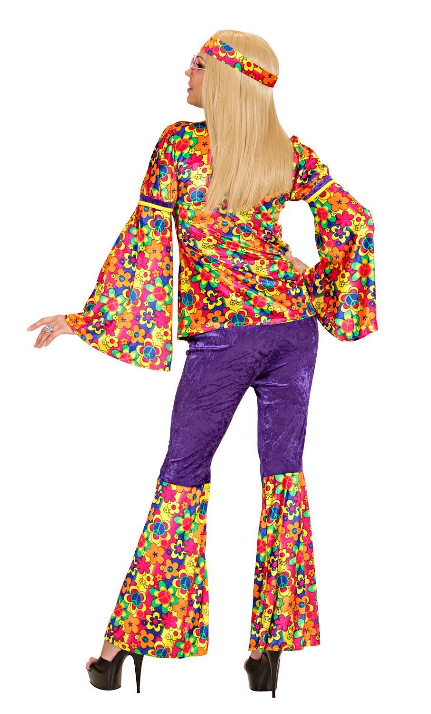 costume hippie pour femme v29639. Black Bedroom Furniture Sets. Home Design Ideas