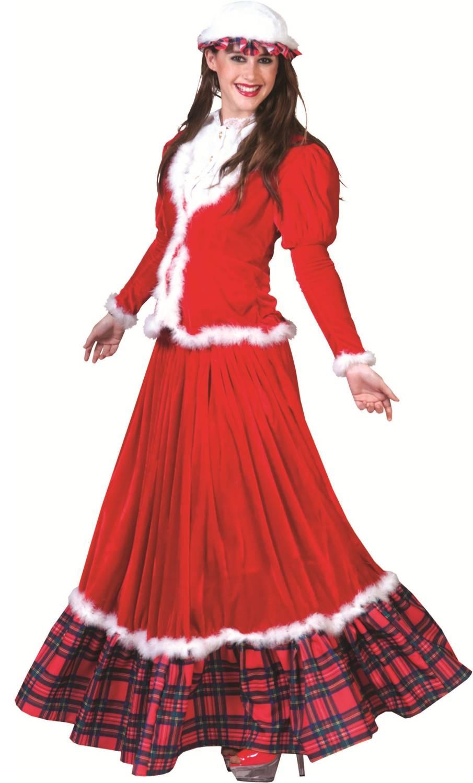 Costume-Mère-Noël-Tradition