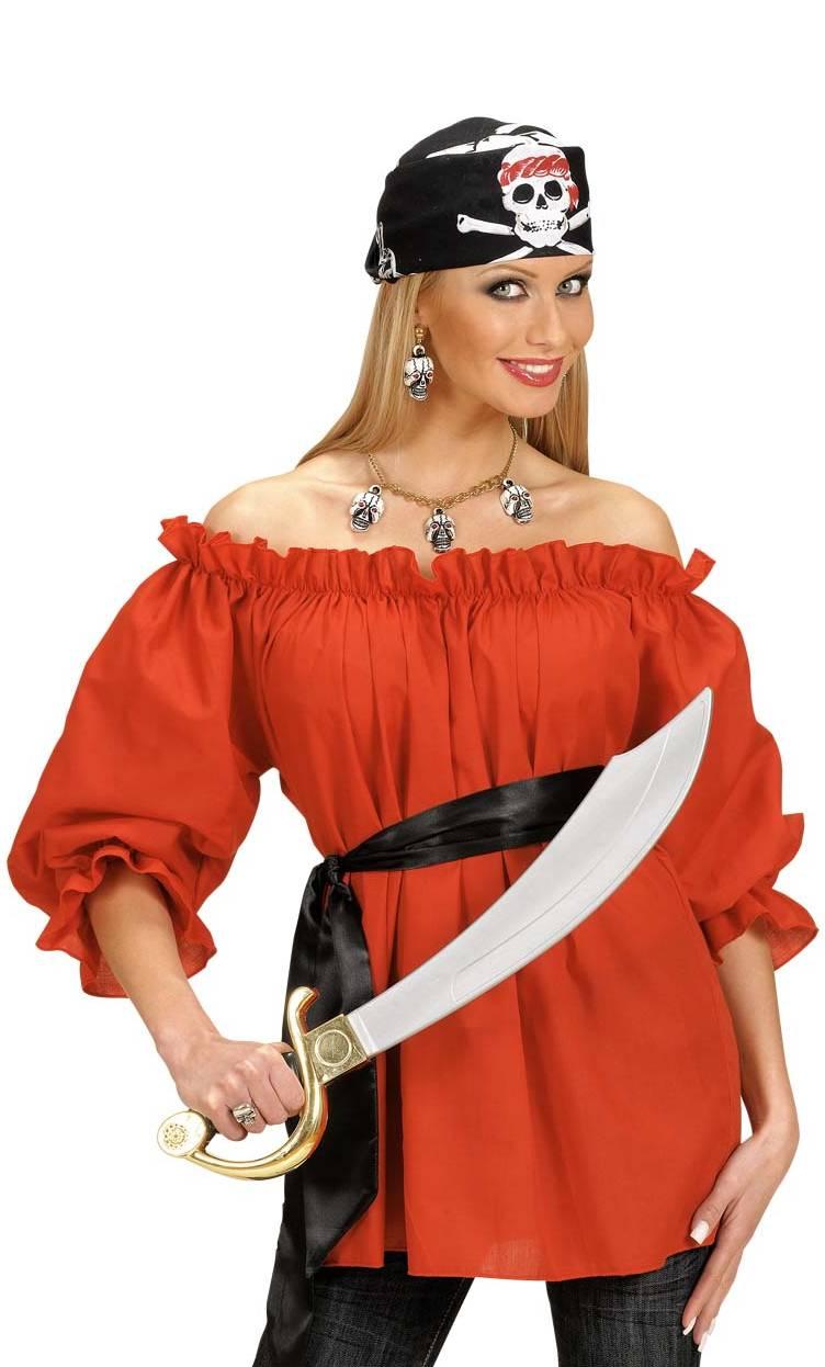 Blouse-femme-rouge