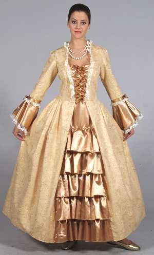Costume-Marquise-or