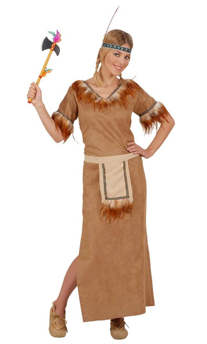 Costume-Indienne-longue-Femme