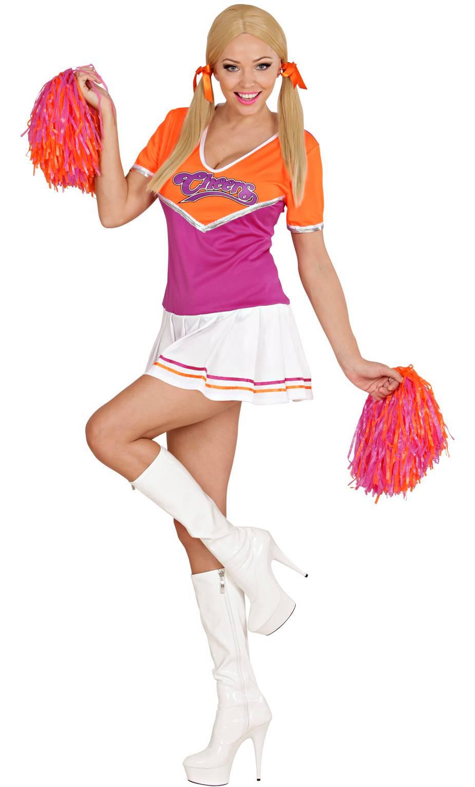Costume pompom girl femme