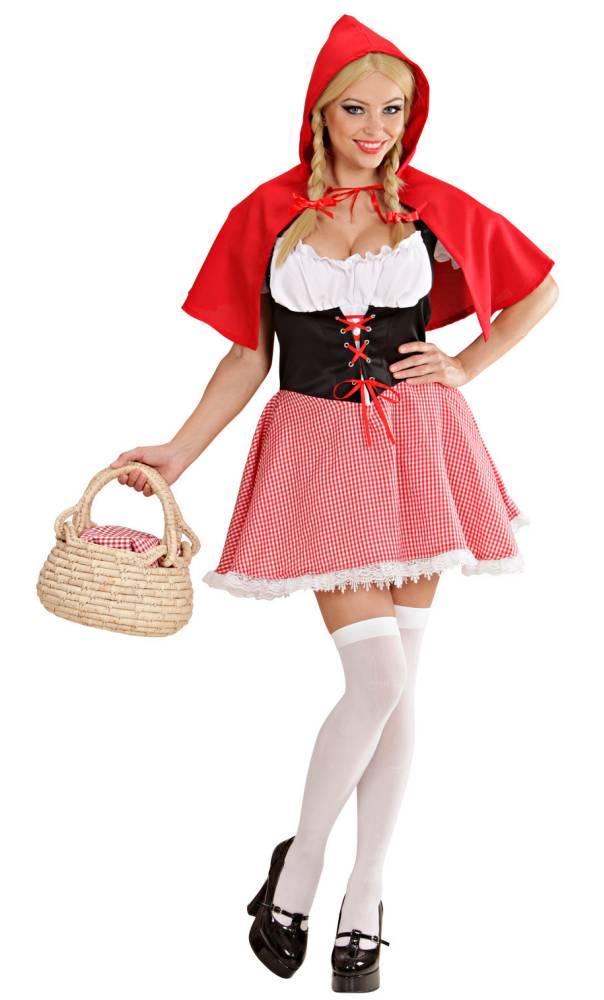 Costume chaperon rouge femme