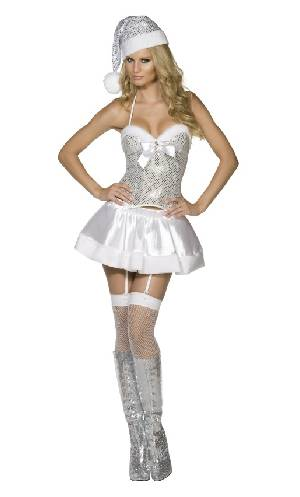 Costume-M�re-No�l-fever-blanc
