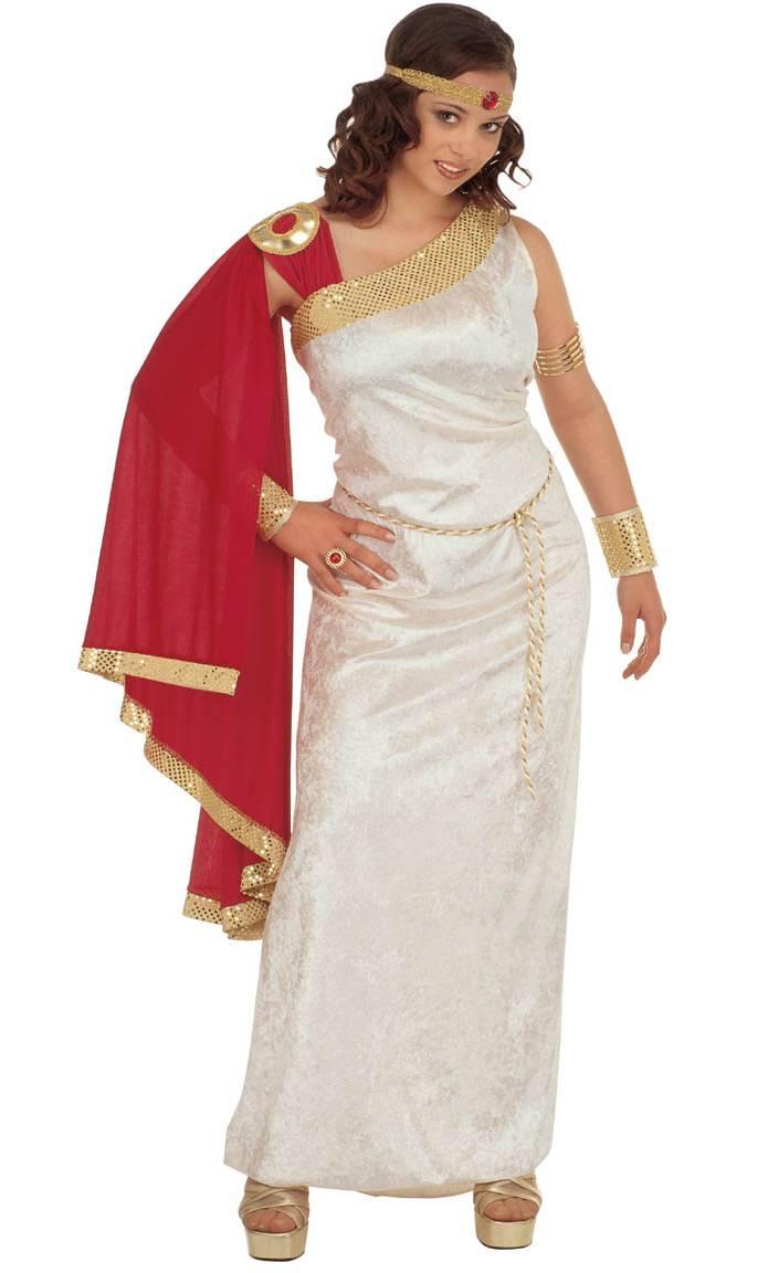 Costume-Romaine-femme-Grande-Taille