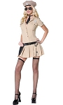Costume-Polici�re-Femme