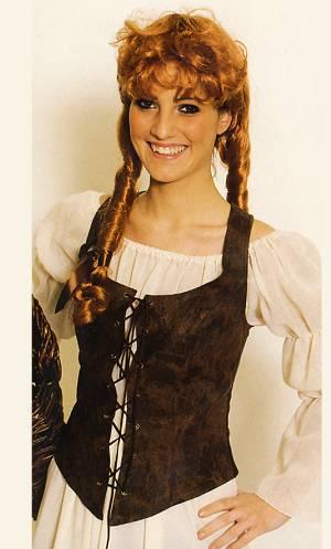 Costume-Corset-médiéval-western