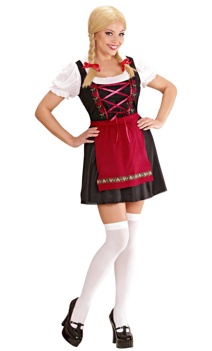Costume de tyrolienne femme