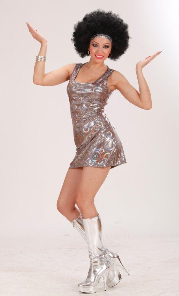Robe-Disco-pour-femme