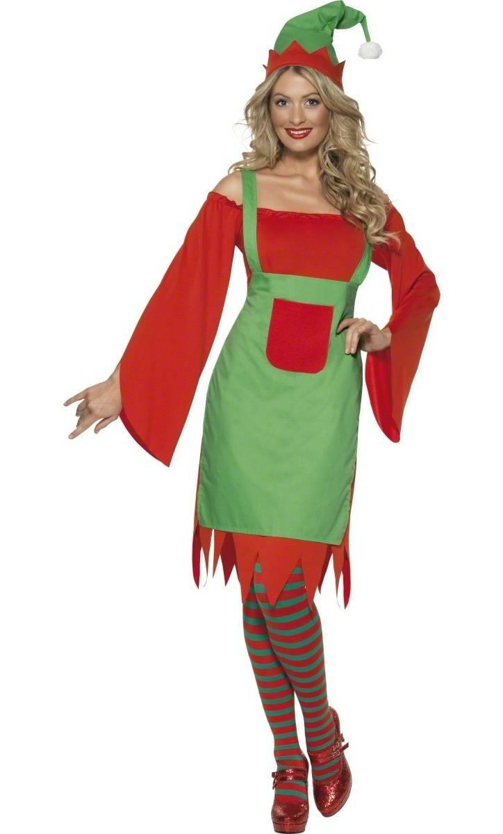 94553b30081d1 Costume lutin noël femme-v29592