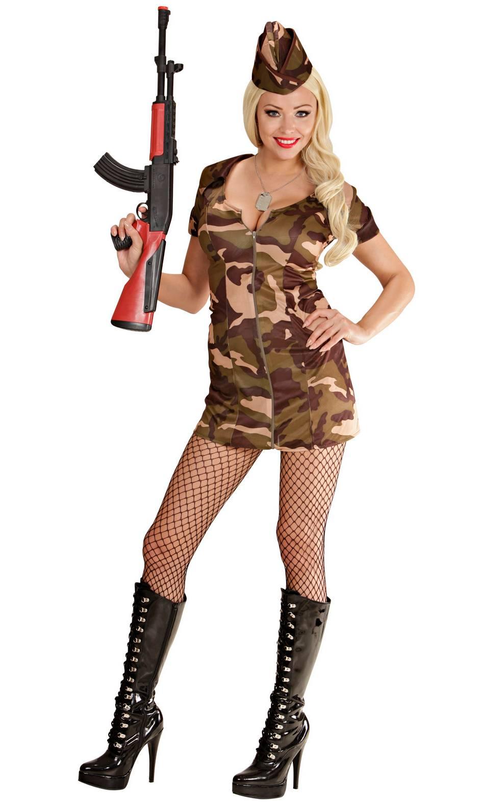 Costume de militaire pour femme