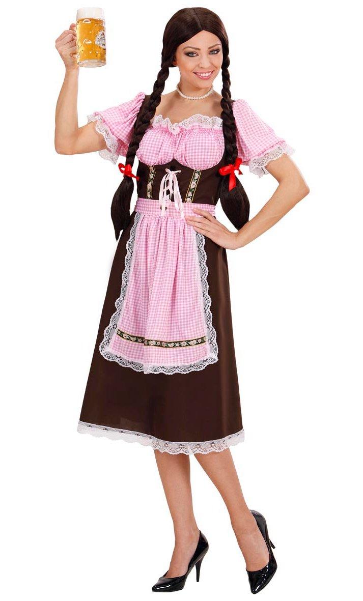 Robe tyrolienne femme