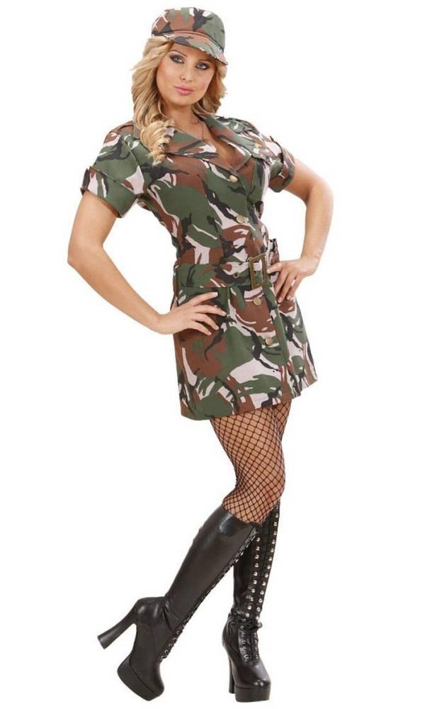 costume de militaire pour femme v29626. Black Bedroom Furniture Sets. Home Design Ideas