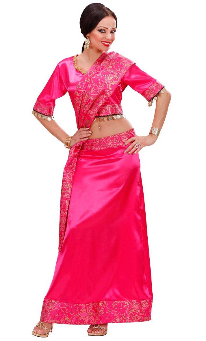 Costume-Bollywood-Sari-Rose