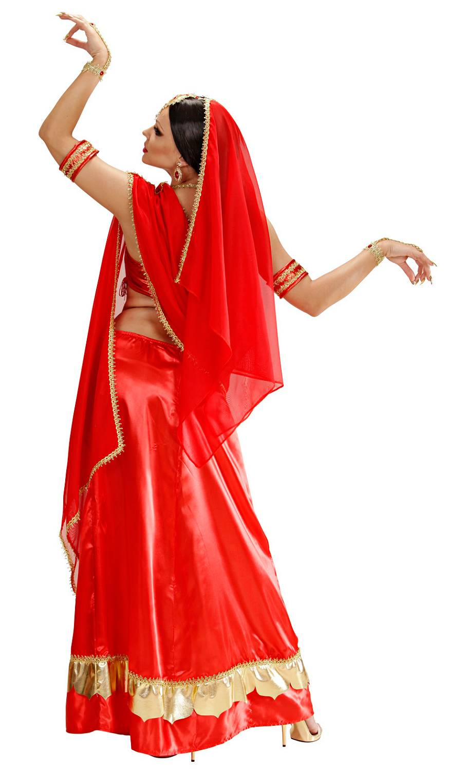 Costume-Sari-Bollywood-Rouge-3