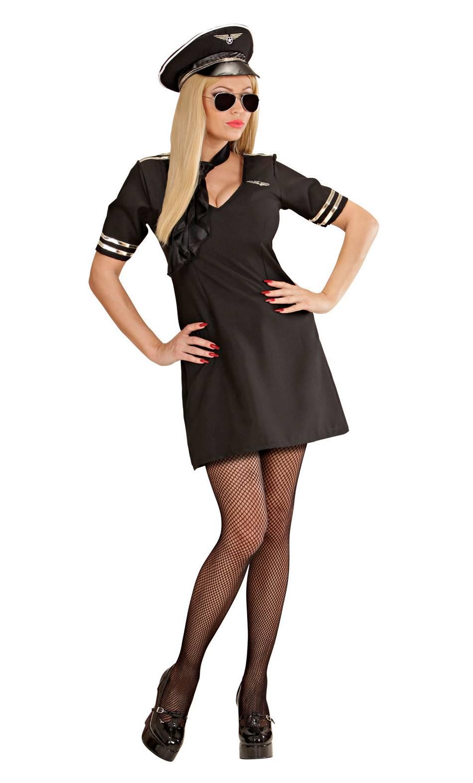 Costume de pilote pour femme
