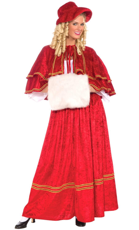 Weihnachtsfrau-Kostüm