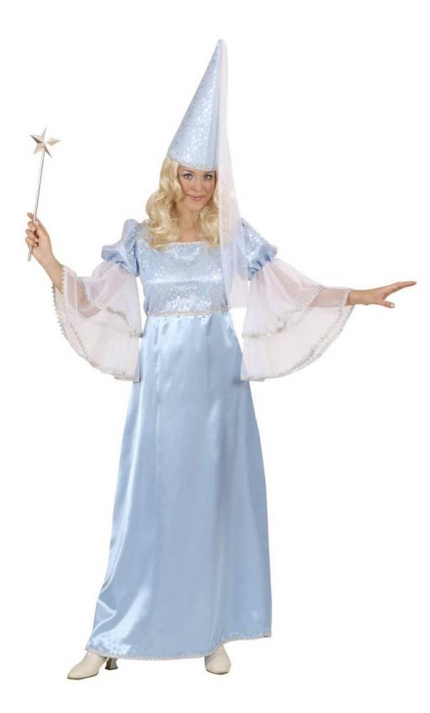 Costume-de-fée-bleue-Grande-Taille-XL