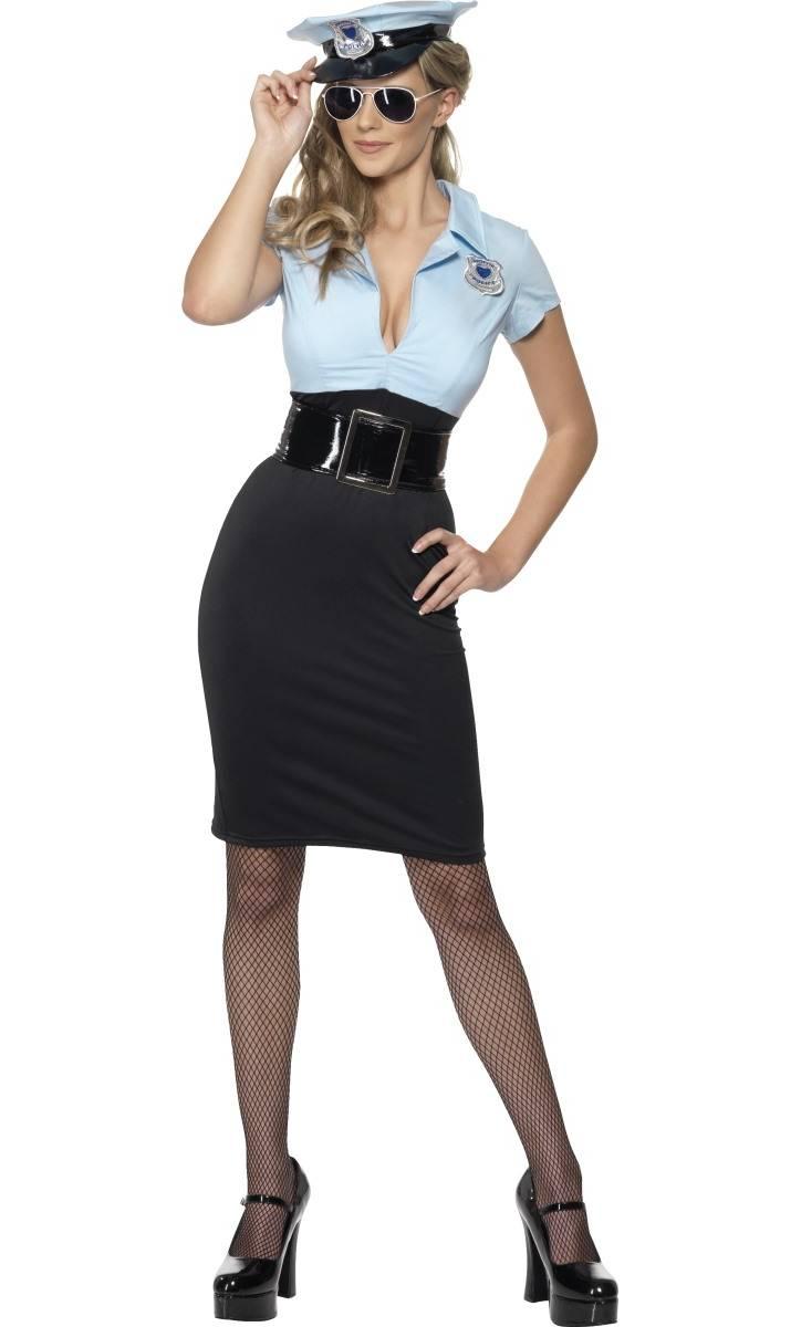 Costume-Polici�re-Femme