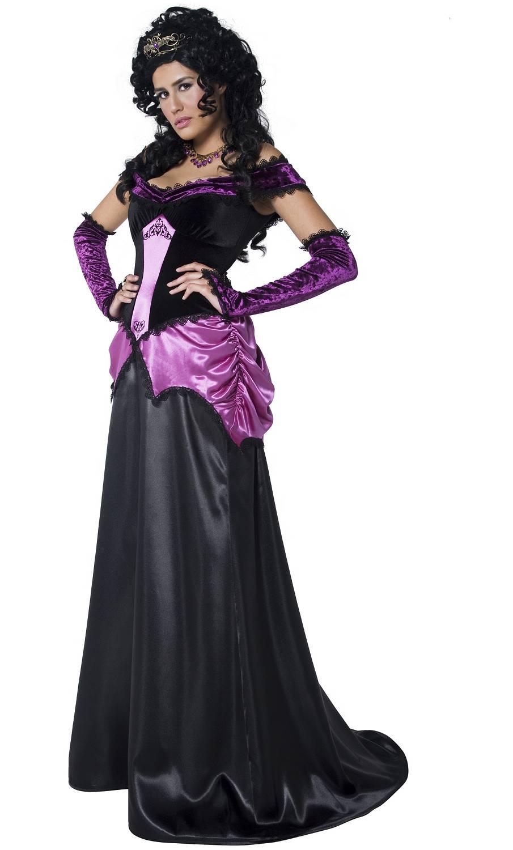 Costume de marquise sombre