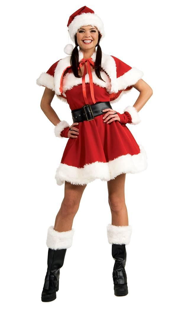 Costume-Mère-Noël-Luxe