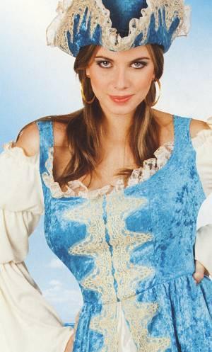 Costume-Pirate-femme-bleue-2