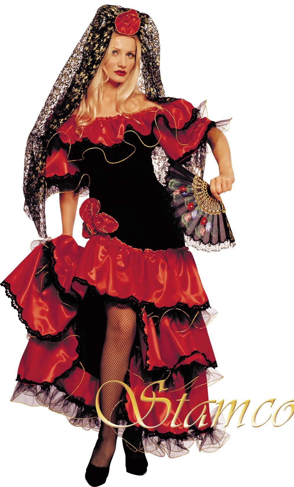 Robe-Flamenco-Femme