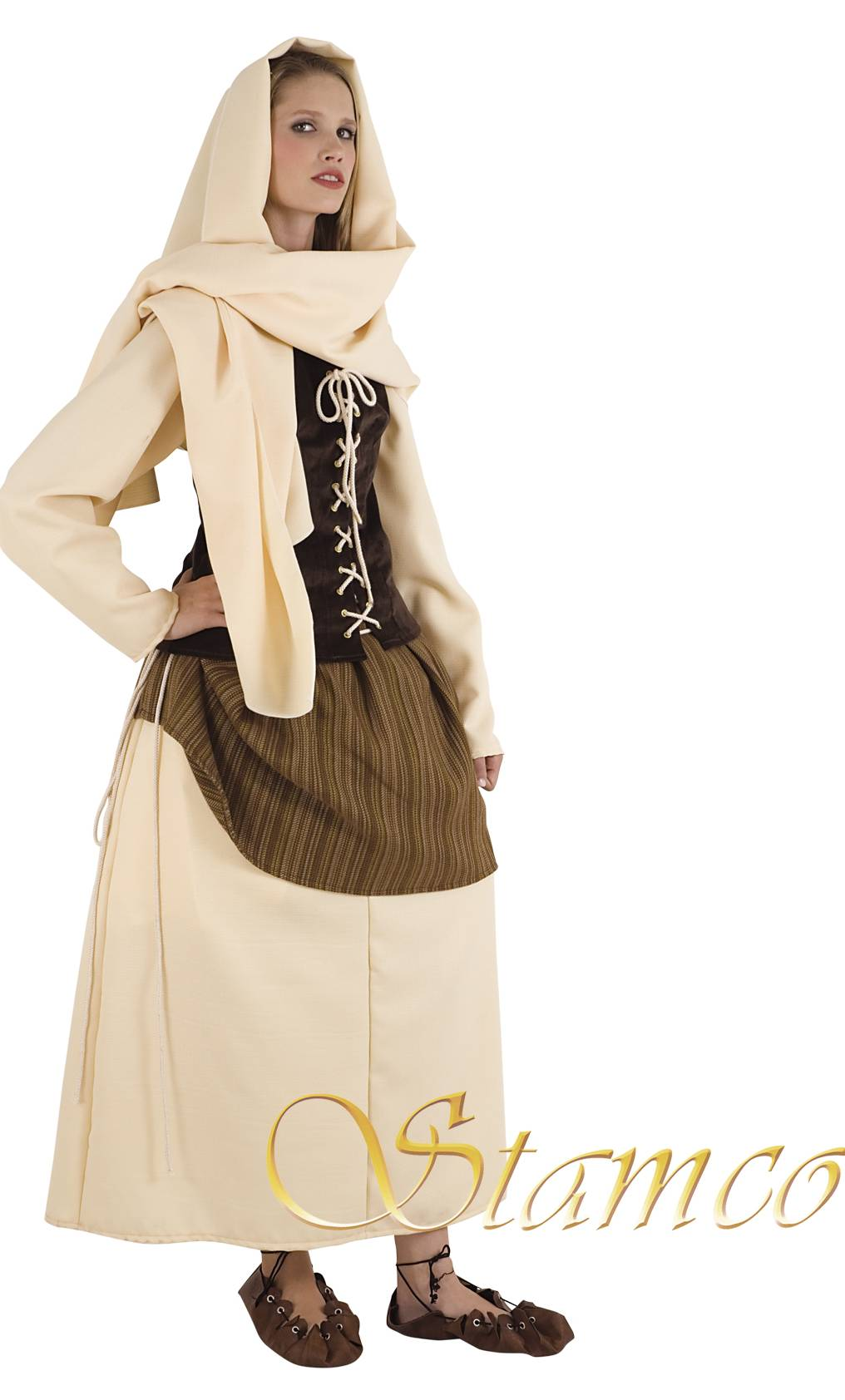 Costume-Paysanne-médiévale-F35