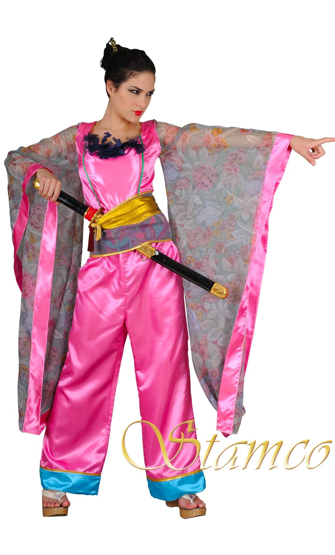 Costume-Geïsha-guerrière