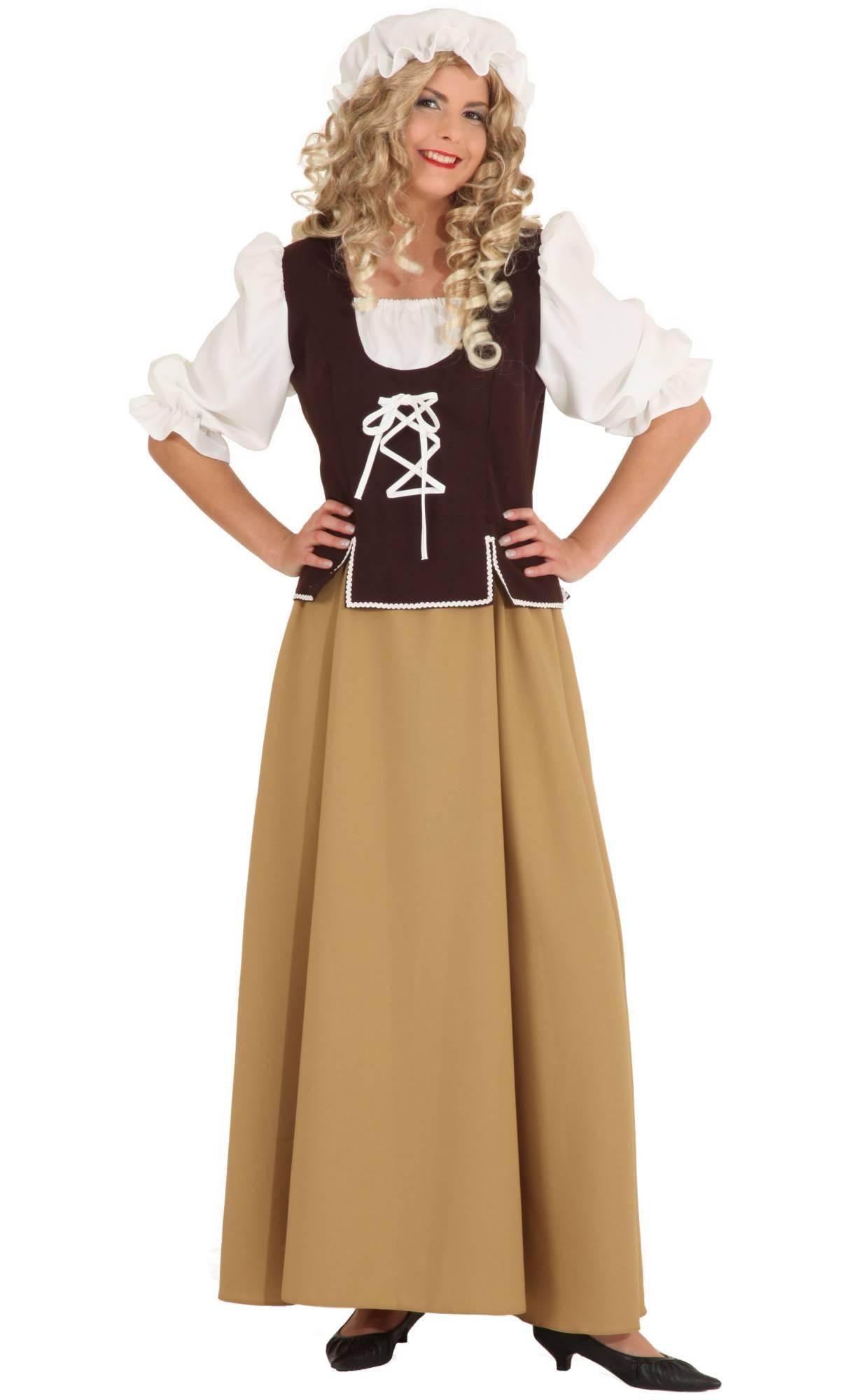 Costume-paysanne-Moyen-âge