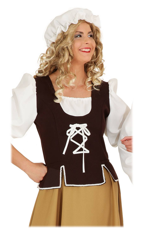 Costume-paysanne-Moyen-âge-2